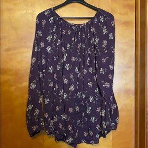 Pheasant style blouse